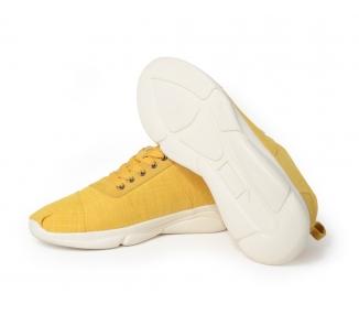 Sneakers couleur unie