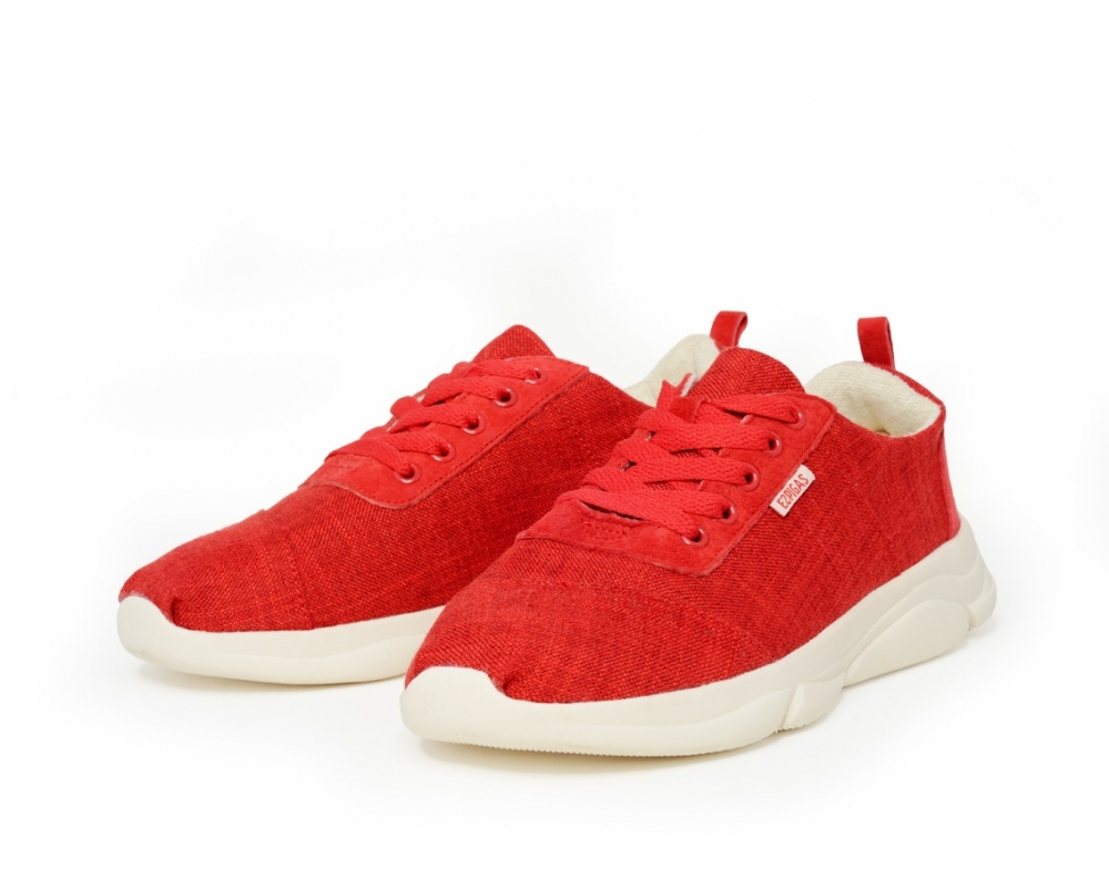 One-color sneakers