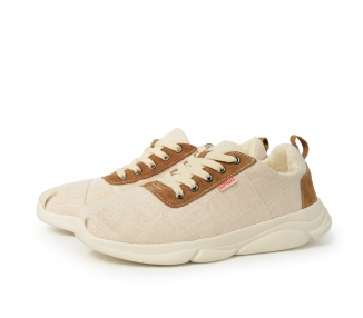 Sneakers chambray beige