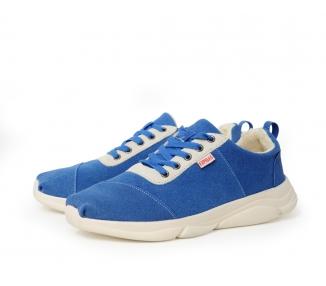 Sneakers nubuck bleue
