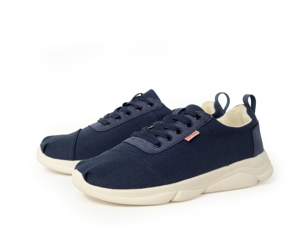 Lined sneakers