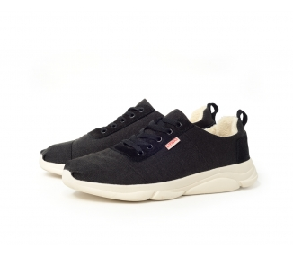 Sneakers fourrées noires