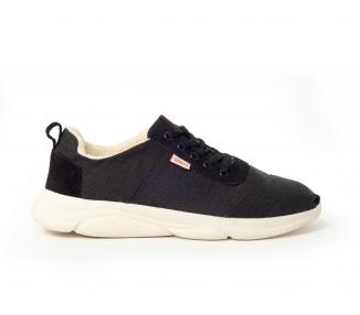 Sneaker fourrée noire